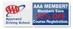 AAA Members Save 10%