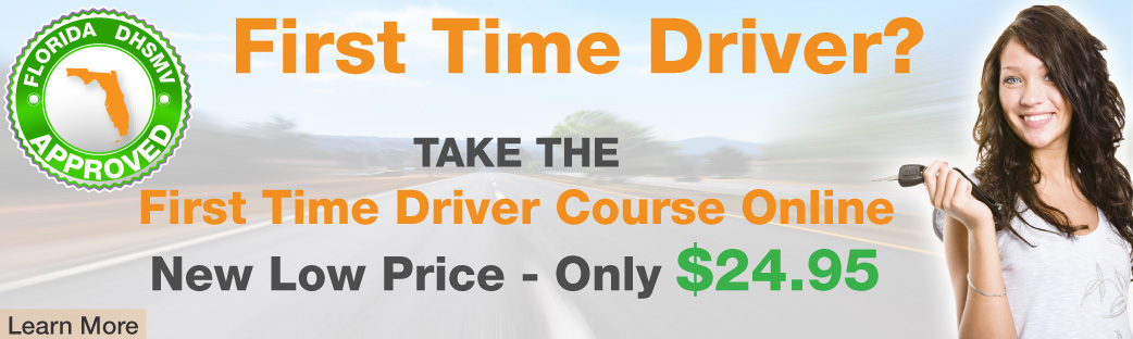First Time Driver Course