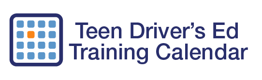 Driving Training Calendar